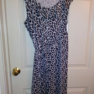 Fashion bug animal print dress. 3x